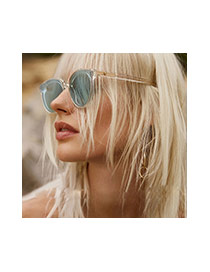 Gafas De Sol De Moda Del Color Puro