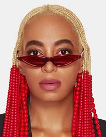 Gafas De Sol Triangulares De Moda
