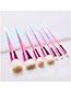 Fashion Color 7 Makeup Jar Drill Makeup Brushes