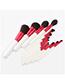 Fashion White 13 Sticks - White Handle - Drunken Fairy - Makeup Brush