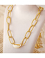 Fashion Gold Single Shell Necklace