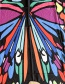 Fashion Color Color Butterfly Beach Towel