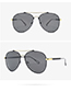 Fashion Yellow Round Shape Frame Design Sunglasses