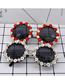 Fashion Red Diamond-encrusted Sunglasses
