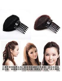Outdoor Color will be random Bang Hair Device Plastic Hair band hair hoop