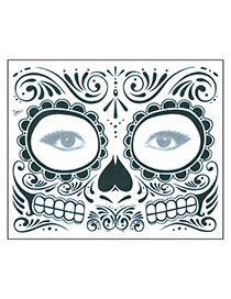 Tatuaje Para Rostro Para Halloween