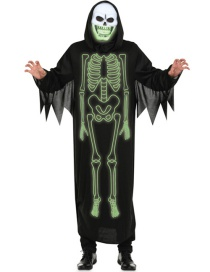 Halloween Disfraz De Calavera Luminosa