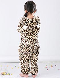 Pijama Leopardo De Niños