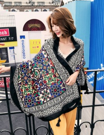 Sexy Multicolor Long Sleeve Graffiti Patten Cardigan Design Bikini Cover Up Smock