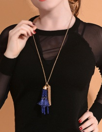 Fashion Necklace Tassel Decorated Earrings
