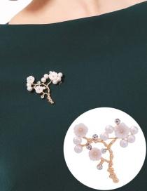 Discount Green Skeleton Hands Design Alloy Korean Brooches