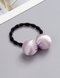 Fashion Purple Ball Shape Decorated Hair Band
