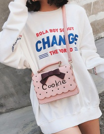 Bolsa Decorada Con Moño Y Letras Cookie