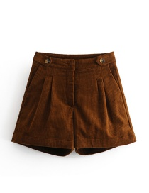 Pantalones Cortos De Color Puro