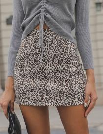 Falda De Leopardo De Moda