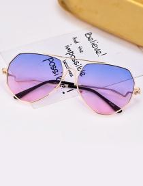 Gafas De Sol Poligonal De Moda