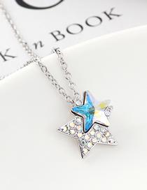 Collar De Cristal Estrella