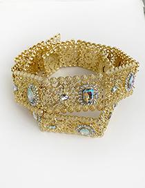 Cinturón De Diamantes De Aleación