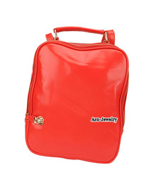 Expired Red Multifunction  Design PU Backpack