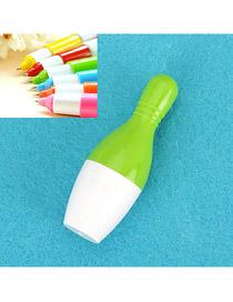 Inspiratio Green Flexible Bowling Shape Design