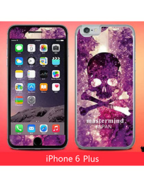 Stationary Multicolor Skull Pattern Simple Design (6 Plus) Leather Iphone 6 Plus