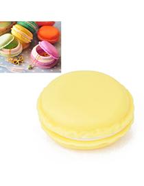 Platinum Yellow Ice Cream Shape Simple Design