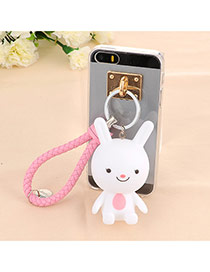 Trendy White Doll Pendant Mobile Phone Shell Dots Descendants Of The Sun Soft Rubber Iphone 5 5s